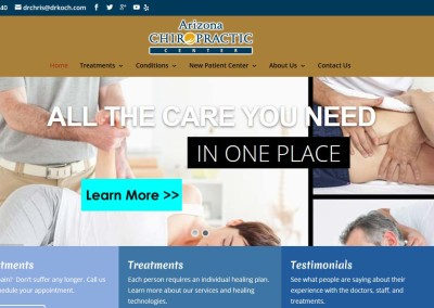 Arizona Chiropractic Center – DrKoch